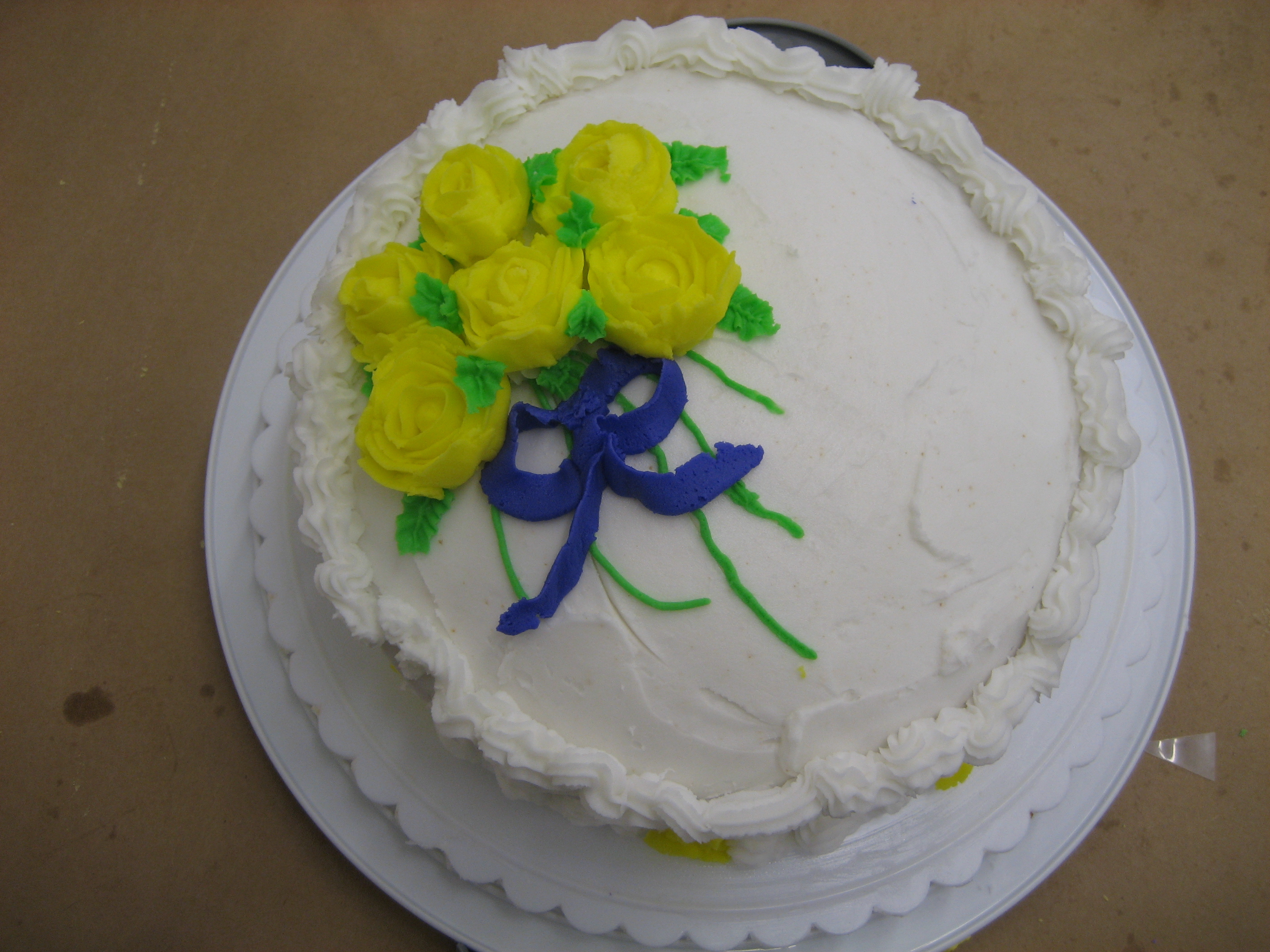Got baking skills jem of the south for Michaels craft store cake decorating classes
