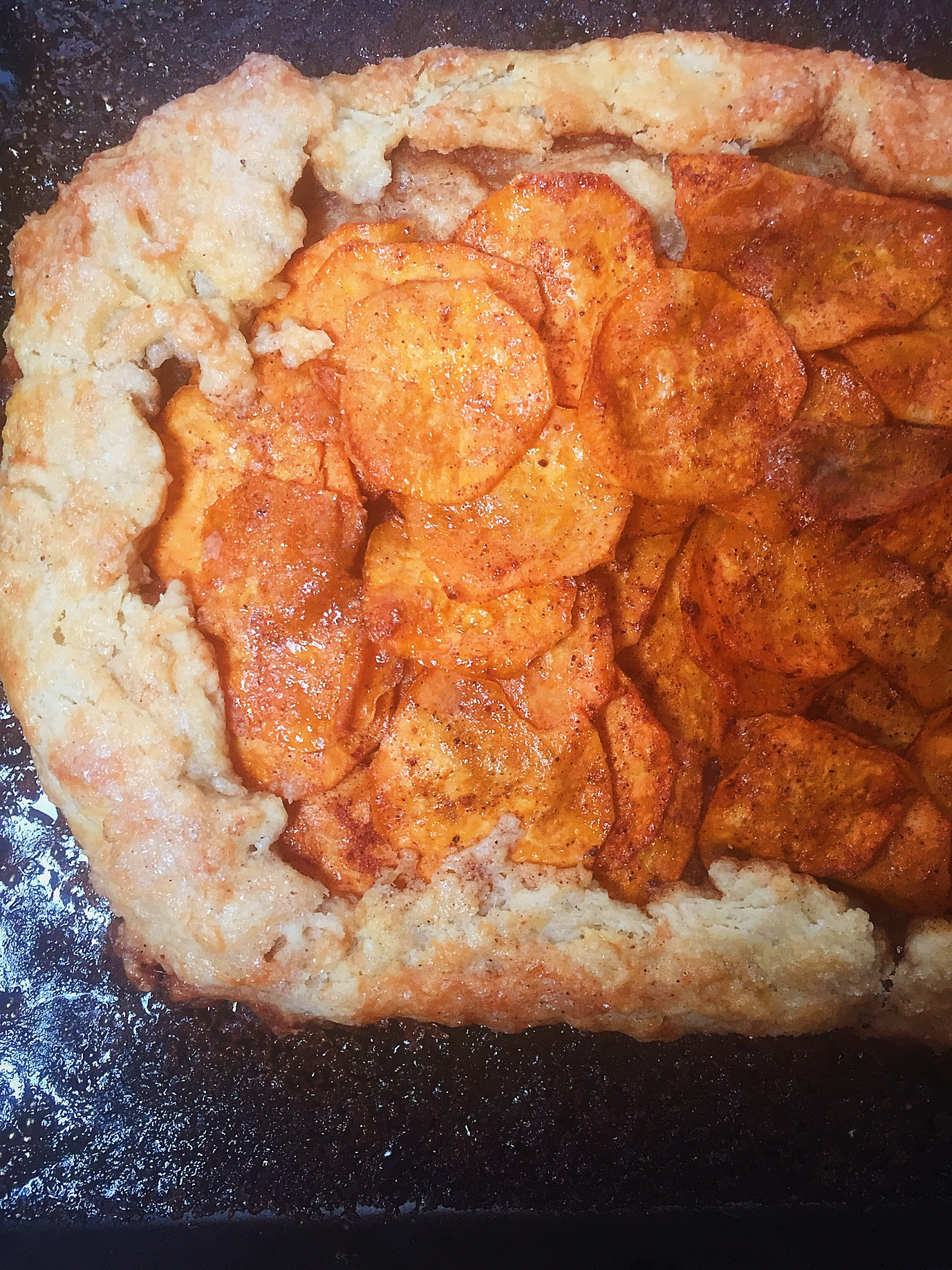 Sweet Potato Galette - Jem of the South